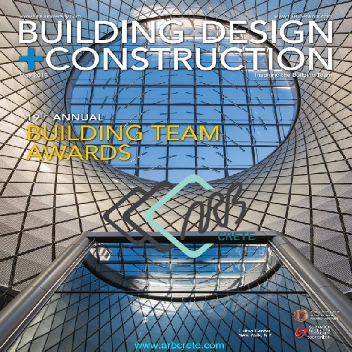 مجله آمریکایی Building Design + Construction ماه مه 2016